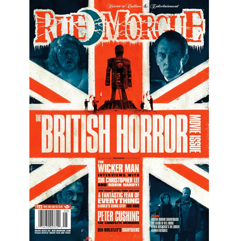 Rue Morgue #133 May 2013 British Horror Movie Issue