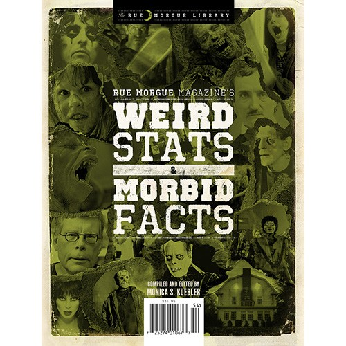Rue Morgue Library #3: WEIRD STATS & MORBID FACTS | Rue Morgue