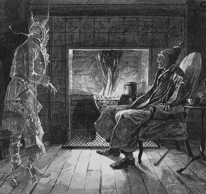 "Listen to the latest installment of HorrorBabble's reading of ""A CHRISTMAS CAROL"""