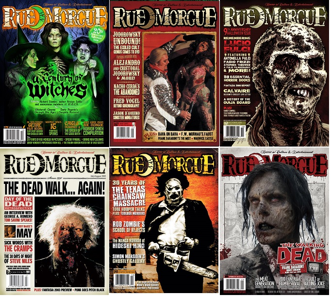 End of Year Sale: Save 25% in the Rue Morgue Shoppe