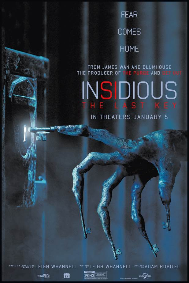 Exclusive Interview Insidious The Last Key Writer Co Star Leigh Whannell On Lin Shaye Demon Acting And More Rue Morgue