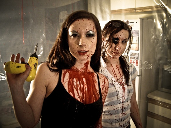 "HorrorPack premieres the Soska Sisters' ""Dead Hooker in a Trunk"" on Blu-ray"