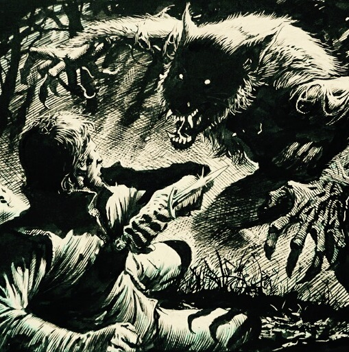 "Classic audio horror returns with a reading of Robert E. Howard's ""THE HYENA"""