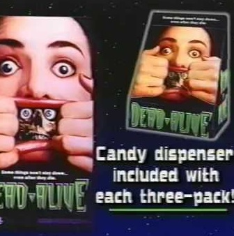 "VHS GLORY DAYS: THE RARELY SEEN VIDEO STORE SALES HALLOWEEN PROMO FOR ""DEAD ALIVE"""