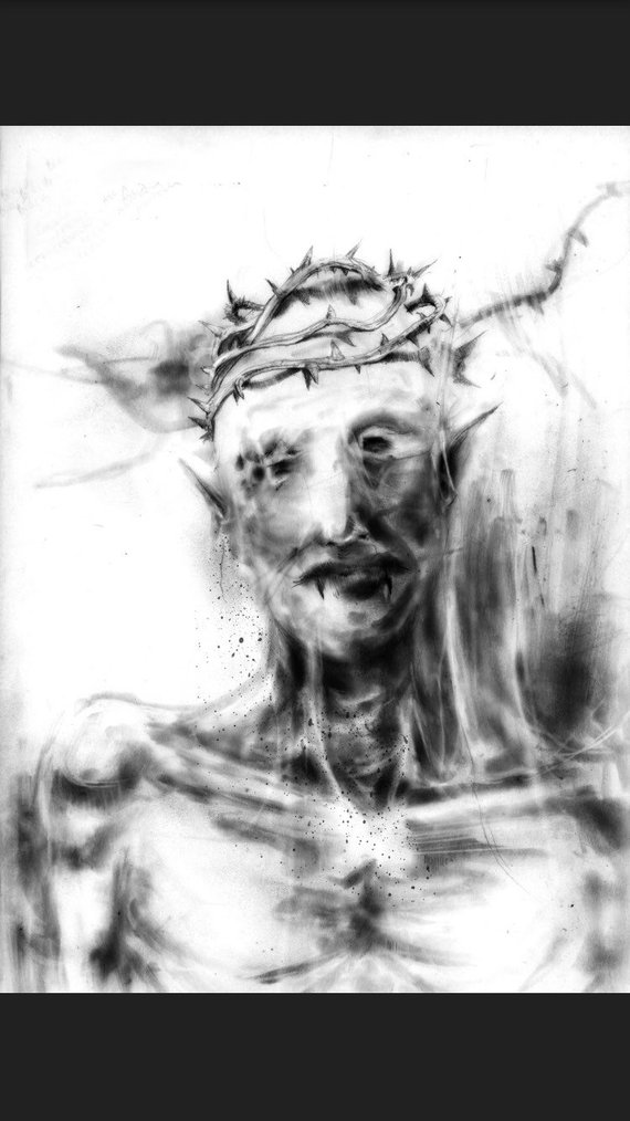 """""""SCARY STORIES"""" INSPIRED ARTIST TALKS DEATH OF THE ENGLISH LANGUAGE AND HELLISH ART"""