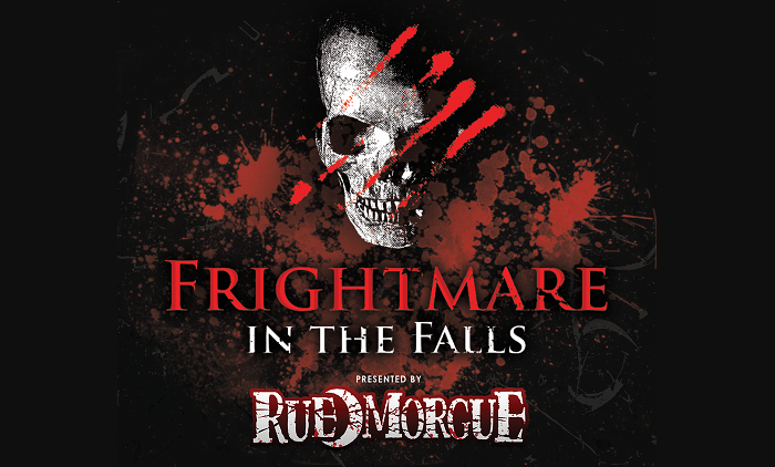 Logo of Rue Morgue Frightmare in the Falls