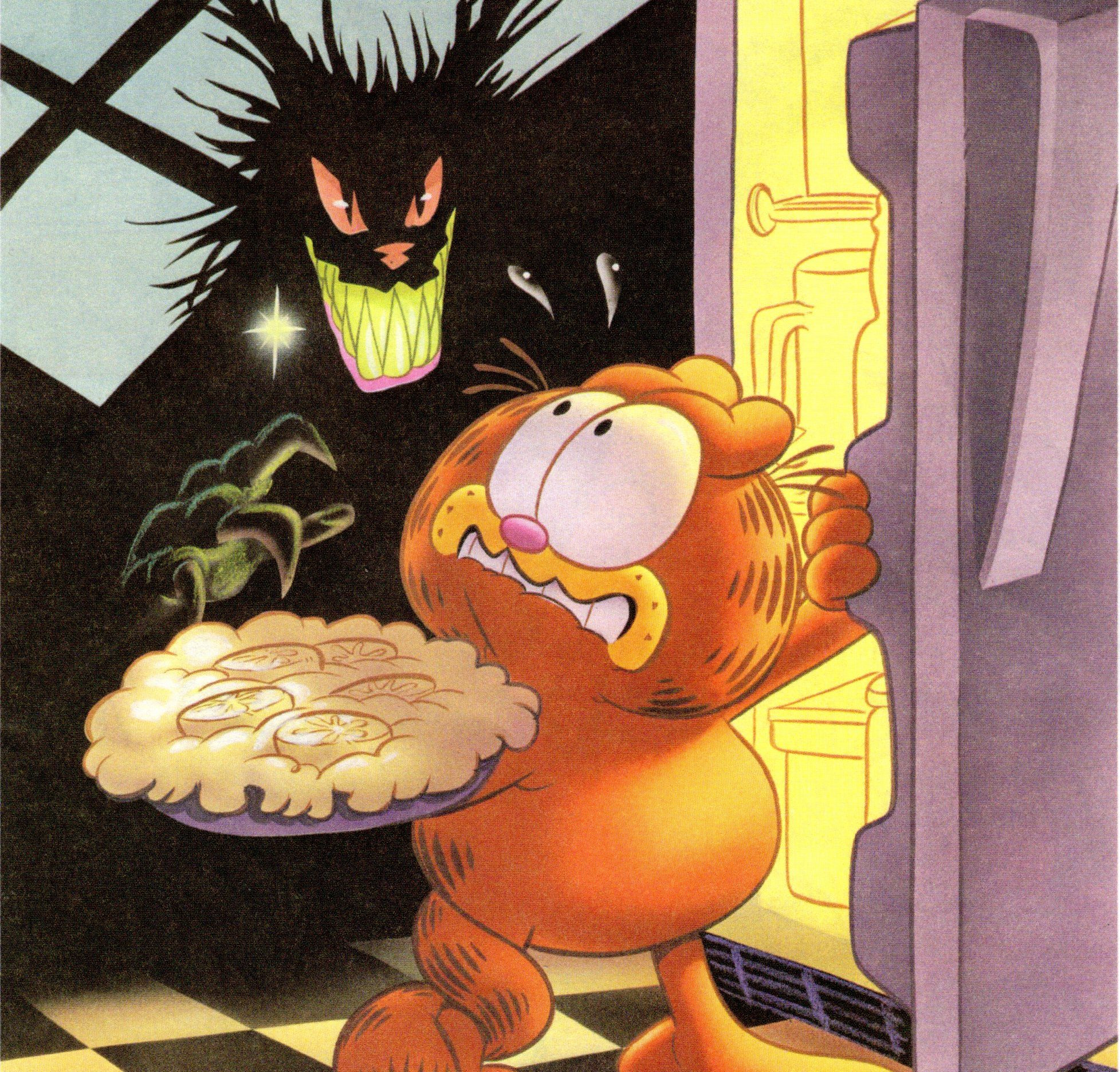Frights For Tykes Reads Garfield S Scary Tales Rue Morgue