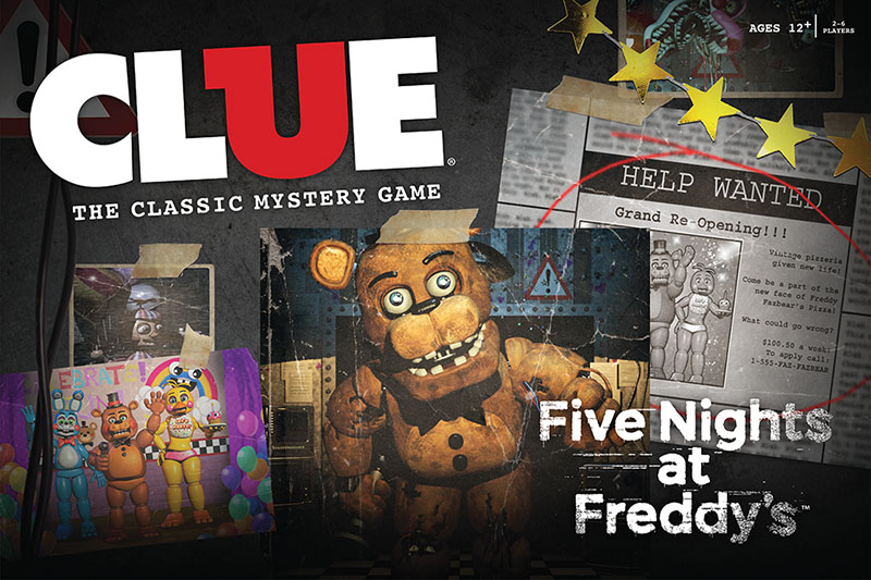 clue five nights at freddy s is a welcome update on a classic game