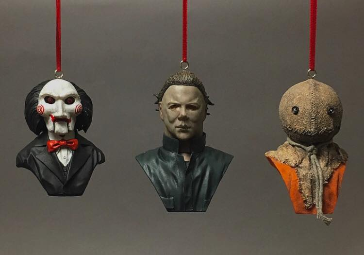 Horror Christmas Ornaments.Bring A Little Horror To The Holidays With These Christmas