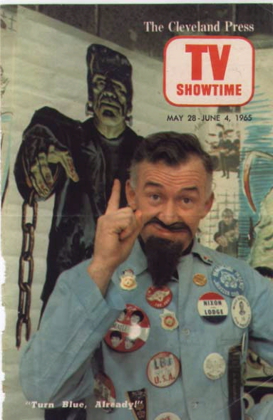RETROSPECTIVE: HORROR HOSTS #3: STAY SICK WITH GHOULARDI! (CLEVELAND, 1963-1966) | Rue Morgue