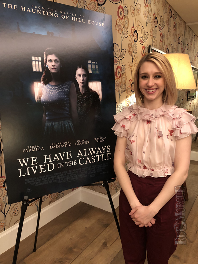 """Exclusive Interview: Taissa Farmiga goes Gothic again in """"WE HAVE ALWAYS LIVED IN THE CASTLE"""""""