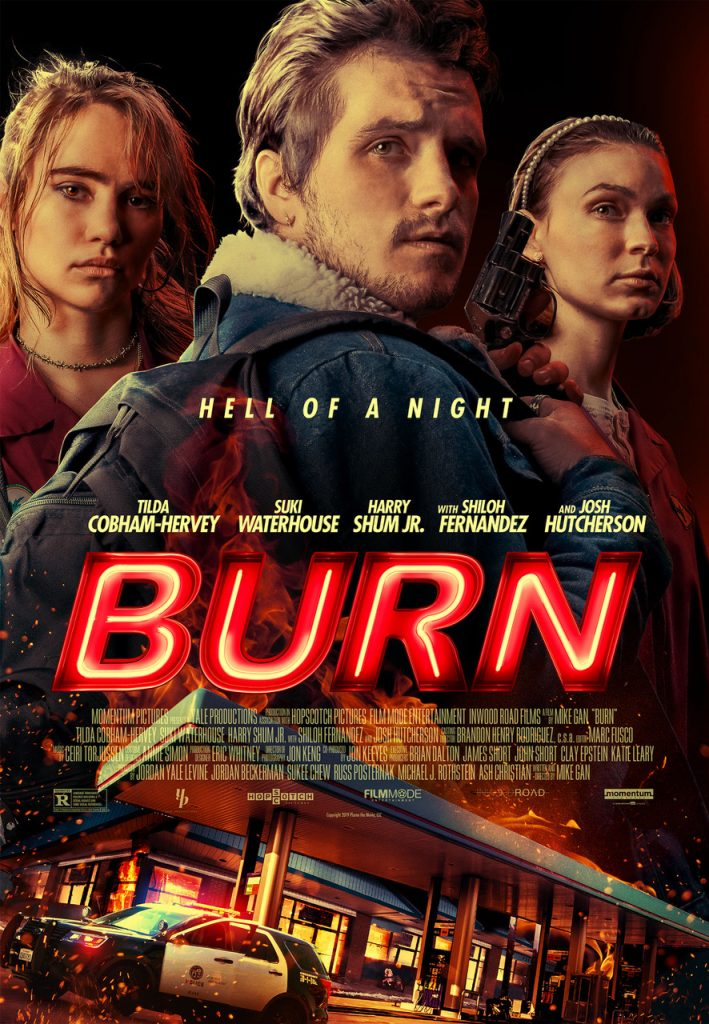 """Exclusive Interview: Writer/director Mike Gan feels the """"BURN"""" 