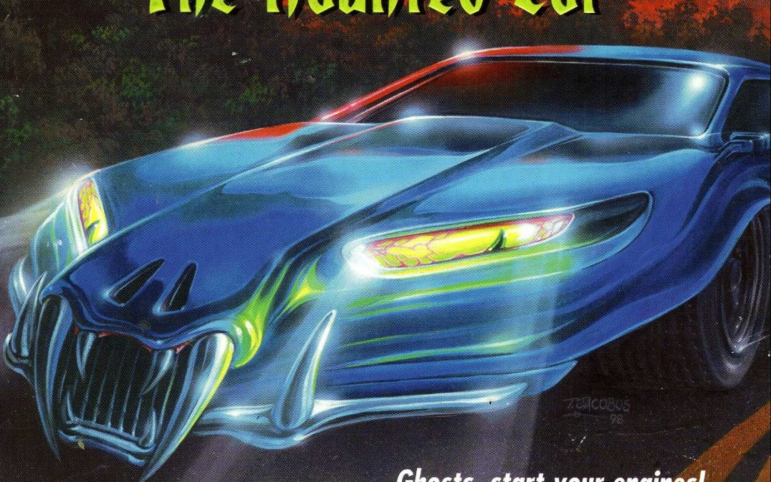"""FRIGHTS FOR TYKES takes you for a ride in """"THE HAUNTED CAR"""""""
