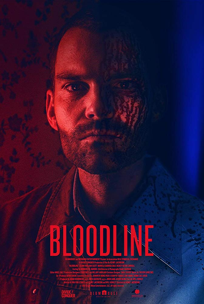 "Movie Review: Seann William Scott makes serial murder as unwholesome as American pie in ""BLOODLINE"" 