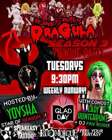 """Watch """"DRAGULA S3"""" with Rue Morgue!"""
