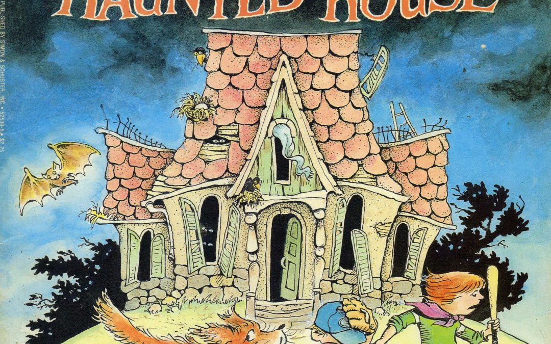 """FRIGHTS FOR TYKES TAKE REFUGE IN """"THE HAUNTED HOUSE"""""""