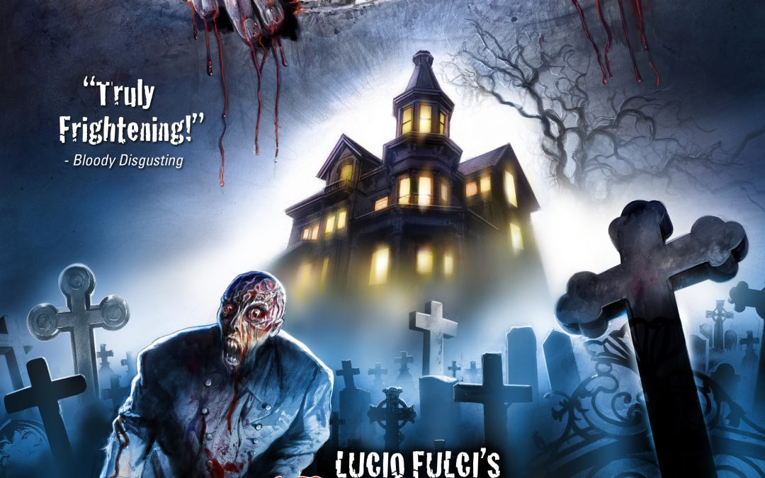 """Full Details, Cover Art For """"House By The Cemetery"""" 3-Disc Limited Edition Revealed"""
