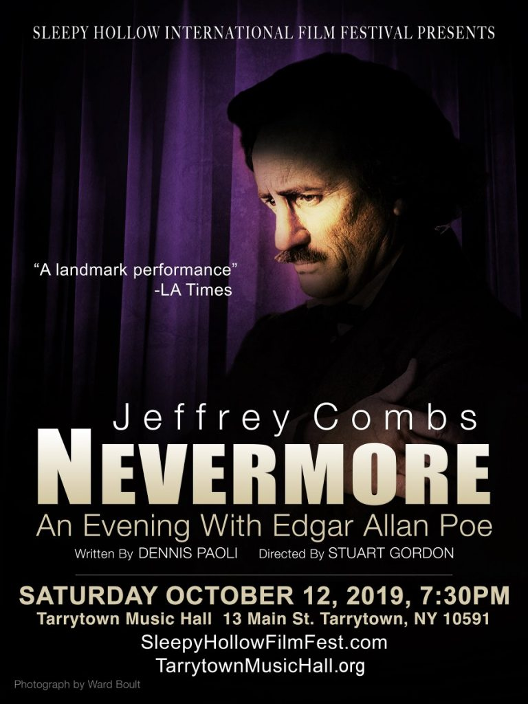 """Exclusive Interview: Jeffrey Combs on his NY production of the Poe play """"NEVERMORE,"""" Part Two 