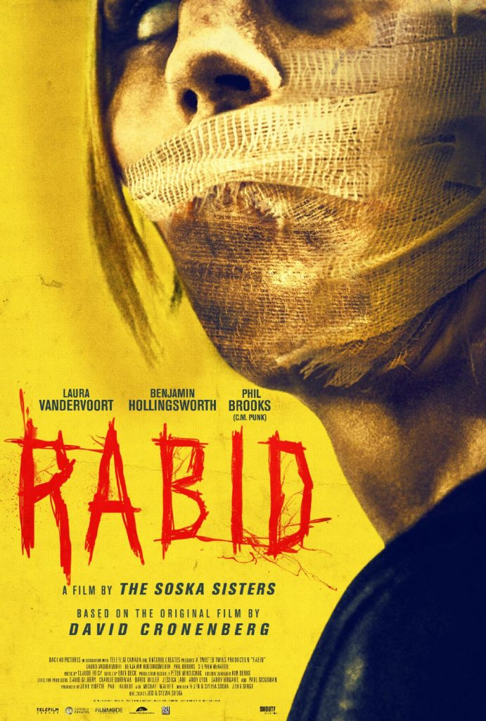 "The Soska Sisters' ""RABID"" remake gets a release date—just in time for Christmas! New trailer, too 