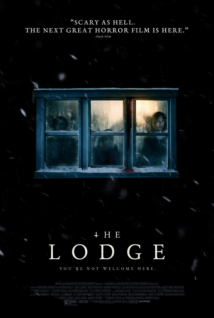 """New trailer and poster emerge for chilling """"THE LODGE"""" 