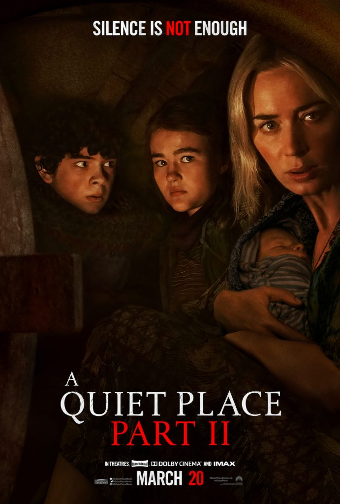 """""""A QUIET PLACE PART II"""": New poster, """"Fight"""" spot and survival-room news 