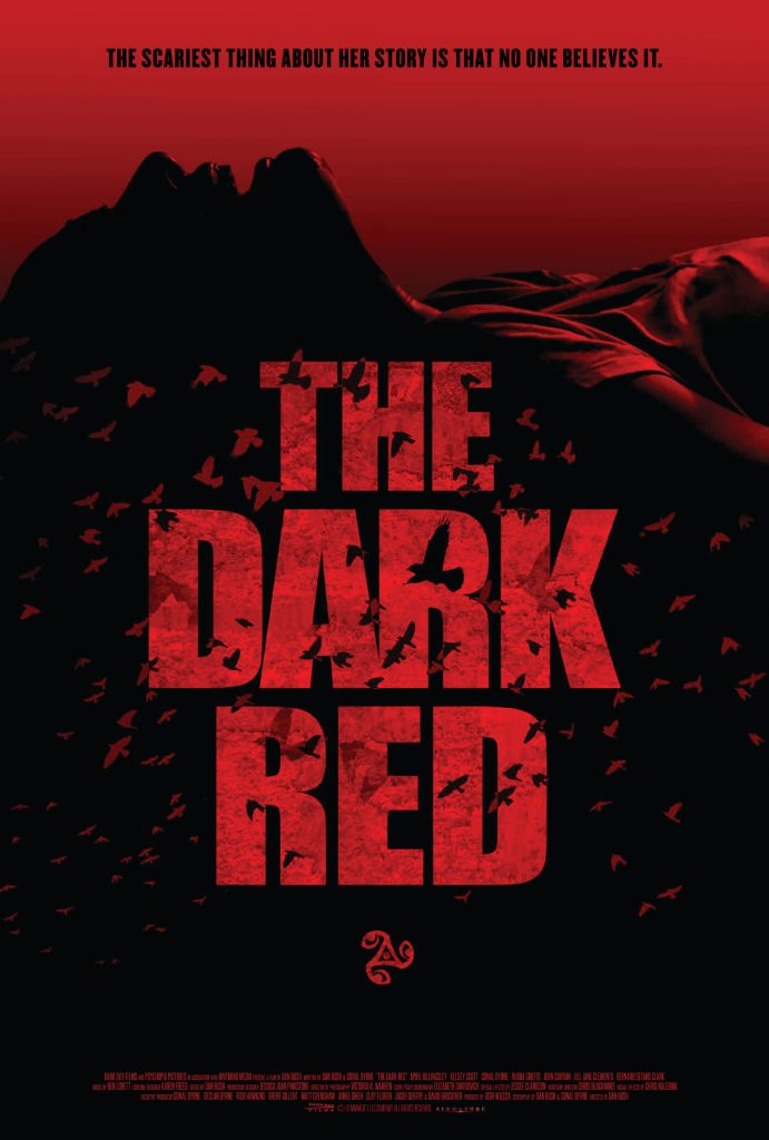 """THE SIGNAL"" director sees ""DARK RED"" for childbirth chiller; trailer, poster, release info 