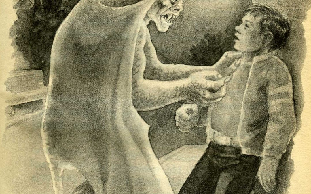 """This week on FRIGHTS FOR TYKES: """"THE MONSTER'S RING"""""""