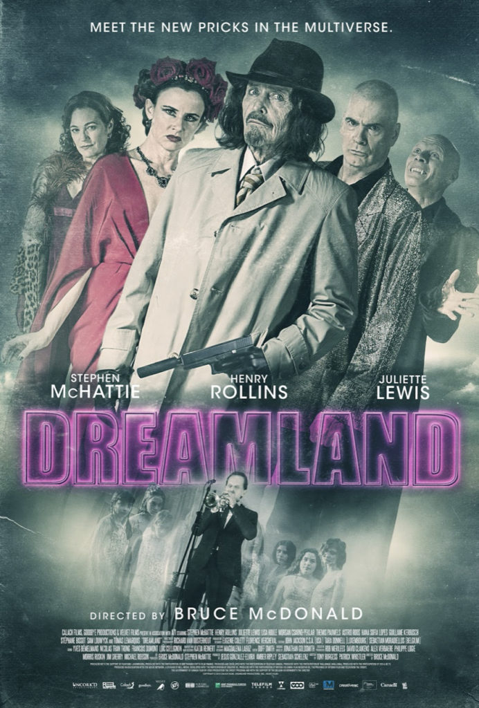 "DREAMLAND"" has a different date and more profane poster in Canada 