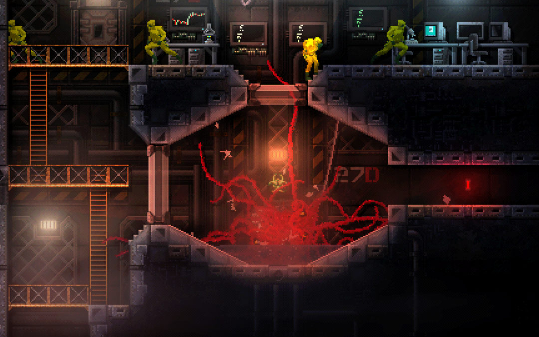 """Game Review: """"CARRION"""" is dynamic, disgusting monster mayhem"""