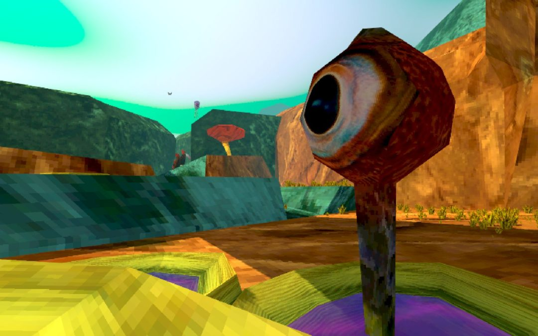 """Game Review: """"CELLULAR HARVEST"""" is a soothing, sinister journey across an alien landscape"""