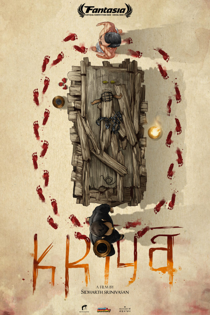 """Trailer and poster premiere for religious-horror Fantasia premiere """"KRIYA"""" 