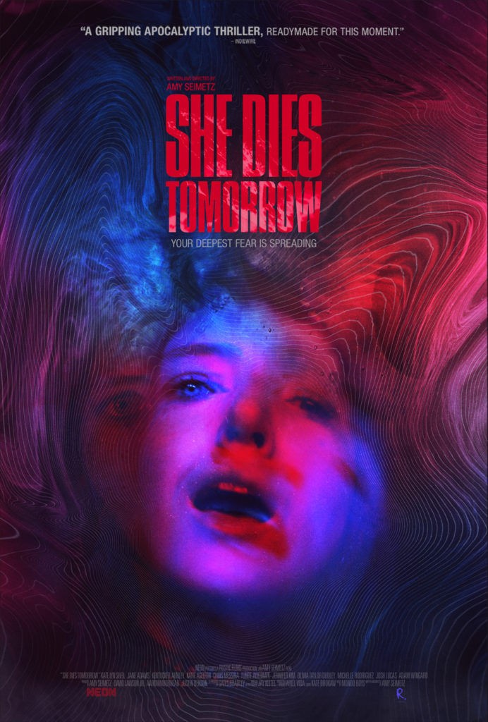 "Movie Review: ""SHE DIES TOMORROW"" is a fascinating study of imminent fate 