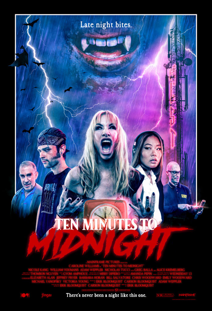 """Exclusive Interview: Caroline Williams finds the soul of her role in """"TEN MINUTES TO MIDNIGHT""""   Rue Morgue"""