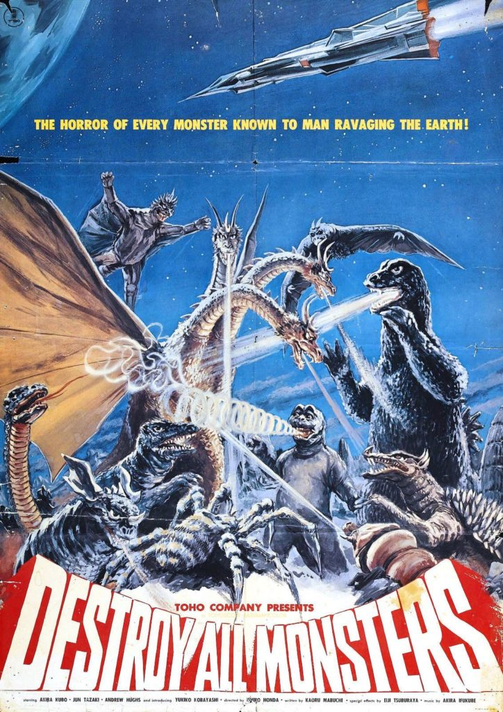 Godzilla is rampaging through drive-ins across the U.S.! | Rue Morgue