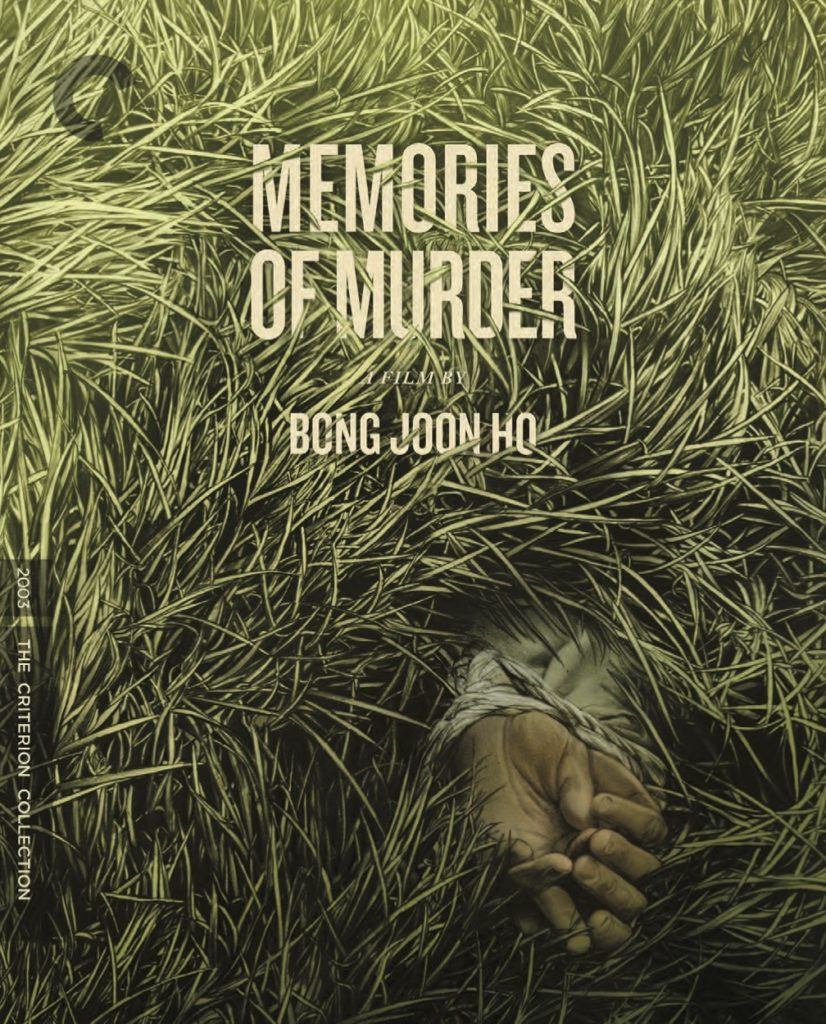 """Bong Joon-ho's """"MEMORIES OF MURDER"""" coming on fully loaded Criterion Blu-rays/DVDs; details & art 