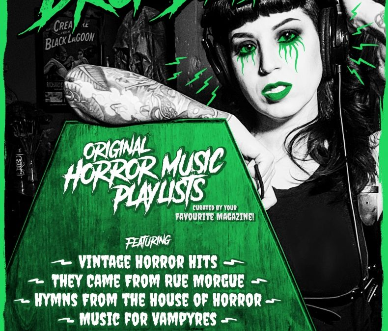 Killers, vampires, monsters, oh my, listen to RUE MORGUE on Spotify!